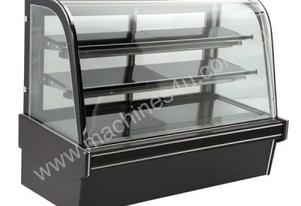 Bonvue Chilled Curved Glass Food Display - 2100mm