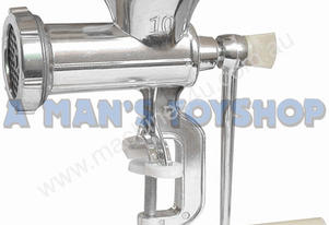 HAND MEAT MINCER NO 10 HEAD BENCH CLAMP