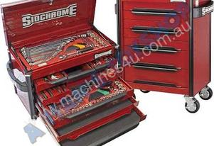 TOOLKIT 157PCE MET/AF CHEST& ROLLCABINET