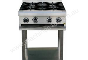 CE4BT600 4 Burner Cook Top + stand & shelf under