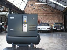 ROTARY SCREW COMPRESSORS - G18 - 25HP, 92CFM KUBOTA - picture2' - Click to enlarge