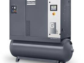 ROTARY SCREW COMPRESSORS - G18 - 25HP, 92CFM KUBOTA - picture0' - Click to enlarge