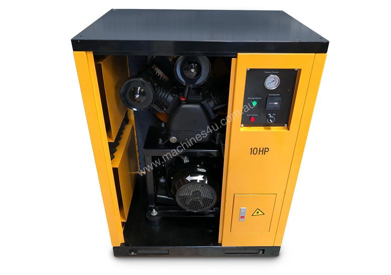 Silenced Piston Air Compressor- Electric 48 CFM