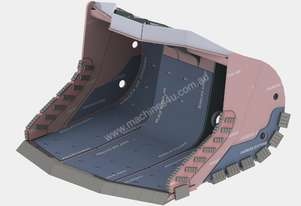 Roo Attachments CAT R1600G ROCK BUCKET XHD
