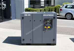 15kW (20 HP) Screw Compressor 85 cfm / 8 bar