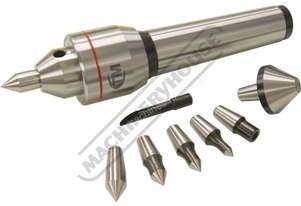 C0645 4MT Live Centre Set - Interchangeable Centring Tips  Taiwanese Precision Quality