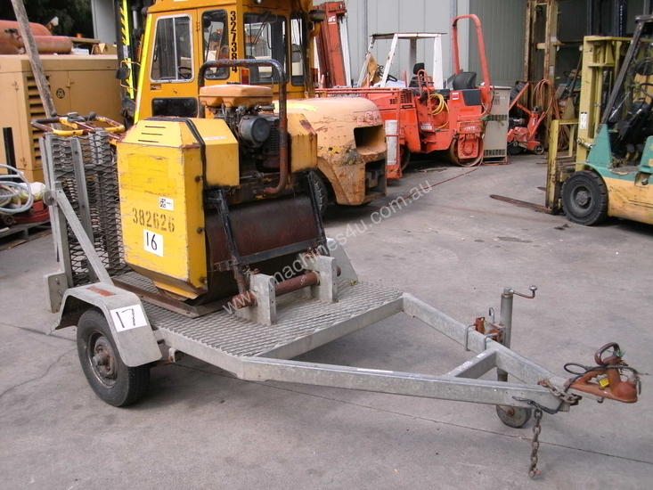 w71 , with galvenised trailer ,