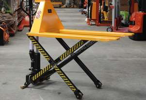 1.5T High Lift Pallet Truck Lift Height 800mm, Fork Width 680mm & 520mm