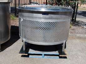 Stainless Steel Dimple Jacketed Tank - picture1' - Click to enlarge