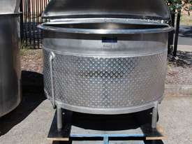 Stainless Steel Dimple Jacketed Tank - picture8' - Click to enlarge