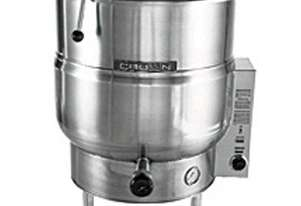Crown EL100 - 379 Litre Electric Steam Kettle - Stationary Tri-Leg