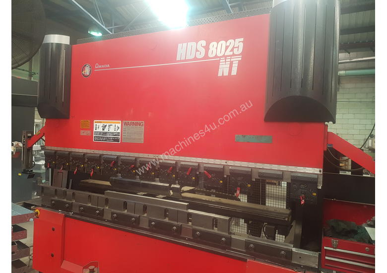 Used 2009 Amada Hds 8025 Nt Cnc Press Brakes In Listed