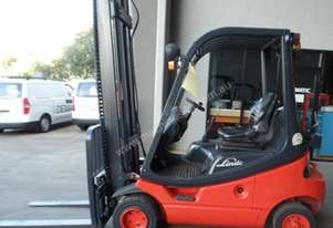 Used Forklift: H20t - Genuine Preowned Linde 2.0t