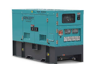 22 KVA Diesel Generator Long Range PERKINS Engine - 415V - 3 Years Warranty