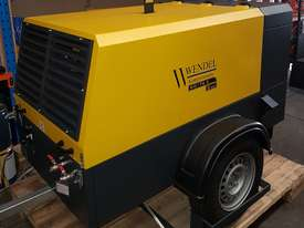 Diesel Portable Air Compressor 185cfm  102psi WENDEL KOMPRESSOREN - picture0' - Click to enlarge
