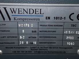 Diesel Portable Air Compressor 185cfm  102psi WENDEL KOMPRESSOREN - picture2' - Click to enlarge