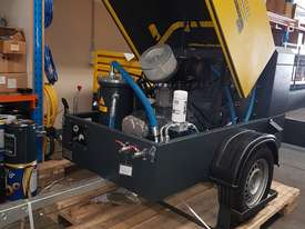 Diesel Portable Air Compressor 185cfm  102psi WENDEL KOMPRESSOREN - picture3' - Click to enlarge