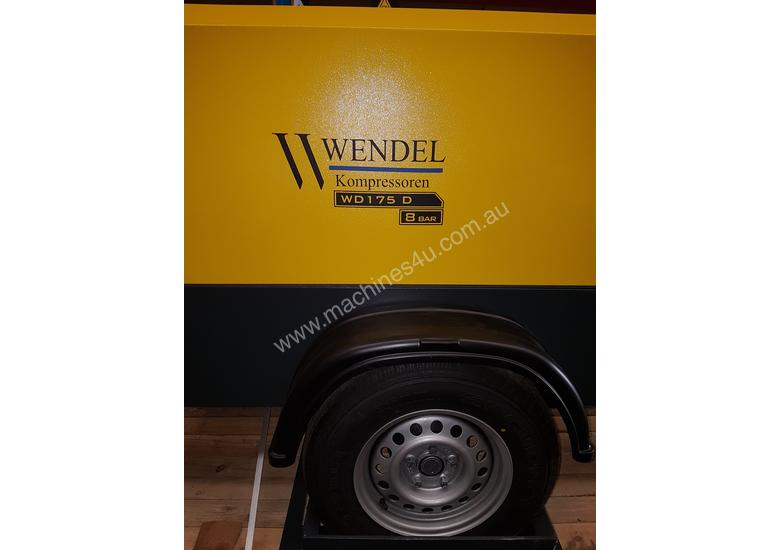 Diesel Portable Air Compressor 185cfm  102psi WENDEL KOMPRESSOREN