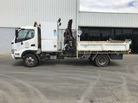 2010 Hino 300 Tipper / Crane Truck - picture0' - Click to enlarge