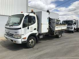 2010 Hino 300 Tipper / Crane Truck - picture1' - Click to enlarge