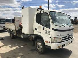 2010 Hino 300 Tipper / Crane Truck - picture3' - Click to enlarge