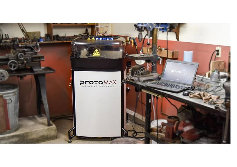 ProtoMAX - World s First High Performance Personal Abrasive Waterjet