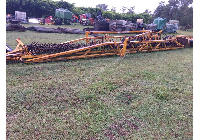 Articulated Chain Rotary Harrow