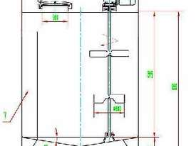 10,000L Storage Tank with Stirrer - picture0' - Click to enlarge