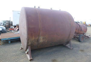 Unknown Steel Tank Tank Irrigation/Water