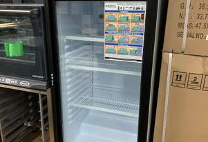Refrigeration Clearance - Bromic 215L Glass Door Chiller with Lightbox