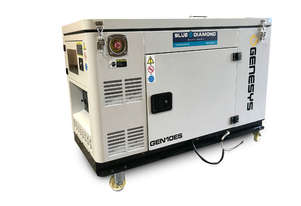 10 kVA Diesel Generator 240V – Compact Water Cooled Generator - 2 Years Warranty