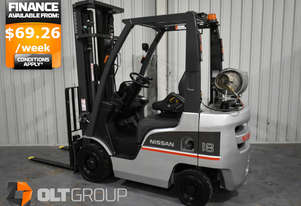1.8 Tonne Used Forklift 5500mm Lift Height Sideshift 2013 Model Excellent Condition Sydney