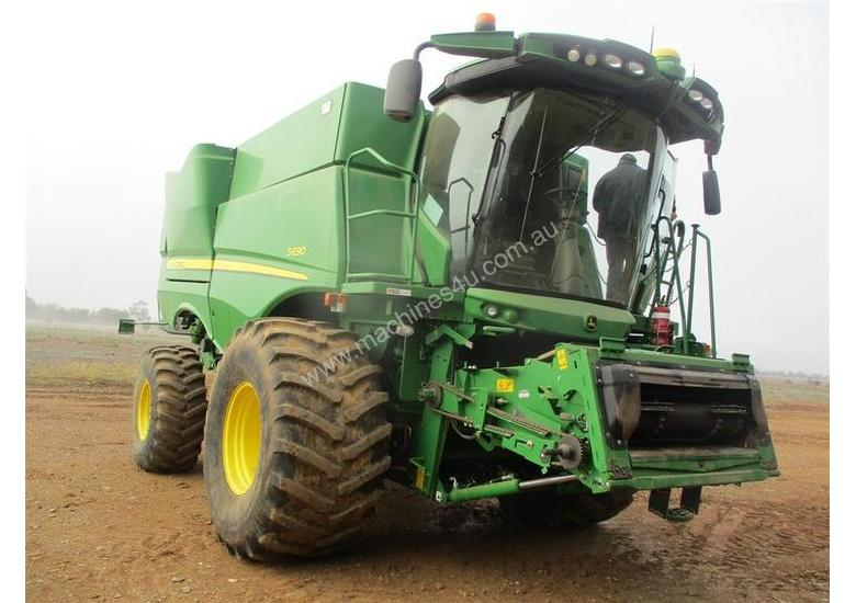 Used John Deere S690 Combine Headers in , - Listed on Machines4u