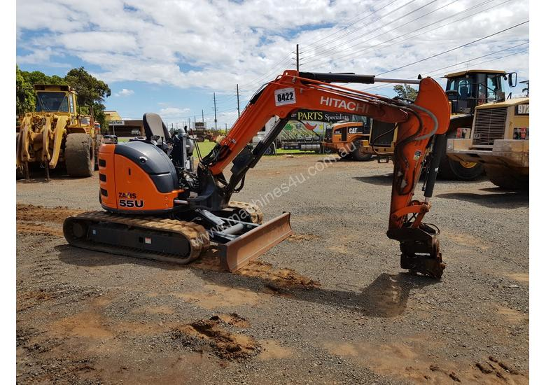 2018 Zaxis ZX55U-5A Excavator *CONDITIONS APPLY*