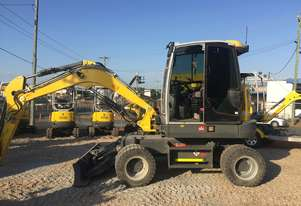 Wacker Neuson Wheeled Excavator 6.5 tonne with  New Buckets and New Hyd Hitch & ZERO PAYMENT 90 DAYS