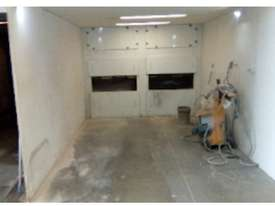 OVEN - POWDER COAT BATCH OVEN, SPRAY BOOTH & SANDBLASTER  - picture1' - Click to enlarge