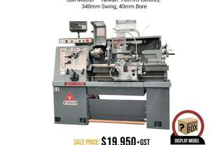 ERL-1330 Precision Centre Lathe. Sun Master - Taiwan. 760mm Centres, 340mm Swing, 40mm Bore,