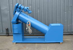 Auger Parts Coater Coating Lubricating Wash Machine