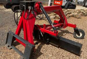 Hydrapower Skid Steer Grader Attachment