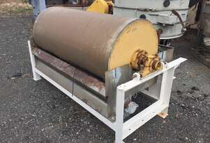 WET DRUM MAGNETIC SEPERATOR 914mm DIA x 1900mm FACE