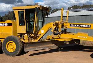 MG460 Mitsubishi Ex Council Road Grader 14ft Mouldboard 185Hp