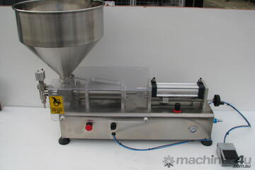 Stainless Steel Single Head Piston Filler 50-500ml