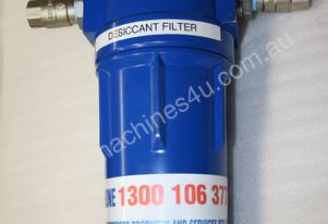 Desiccant compressed air filter / dryer - painting