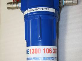 Desiccant compressed air filter / dryer - painting - picture0' - Click to enlarge