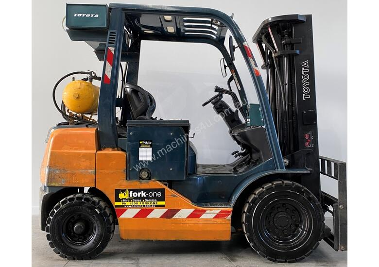 Toyota Forklift Diesel Container Flameproof 2.5ton