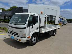 2008 HINO DUTRO 300 - Tray Truck - Tray Top Drop Sides - picture0' - Click to enlarge