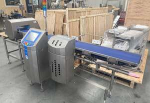 Loma Metal Detector/Checkweigher Combo Unit