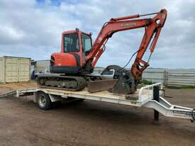Excavator + Trailer - picture0' - Click to enlarge