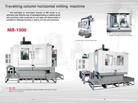 Eumach MB travelling column Machining Centre - picture8' - Click to enlarge