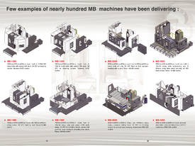Eumach MB travelling column Machining Centre - picture10' - Click to enlarge